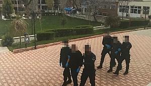 Rögar Kapak Hırsızları Yakalandı