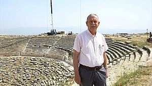 Tarihi Tiyatro Ziyaretcilerini Bekliyor
