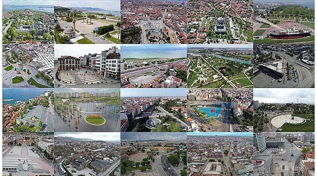Türkiye'nin 'sessizleşen meydanları' drone ile görüntülendi