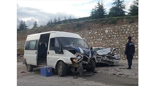 Afyonkarahisar'da Kaza 2 ölü