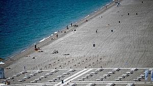 Antalya'da sahiller hareketlendi