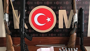Aydın'da silahlı yağma olaylarının 5 şüphelisi yakalandı