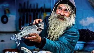 Balıklar oltaya değil, objektiflere takıldı