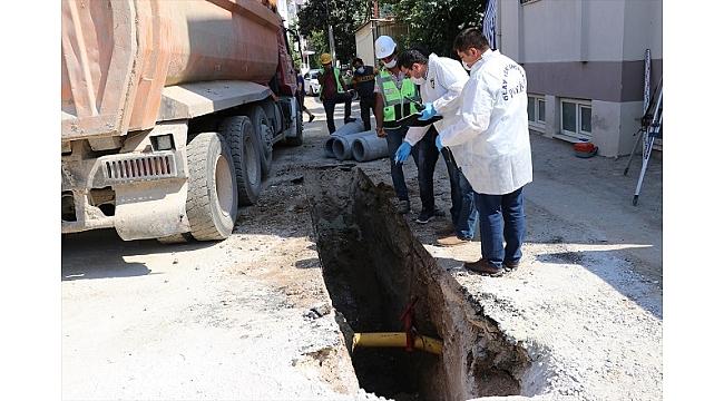 Doğal gaz borusunu onarmaya çalışan 3 işçi yaralandı
