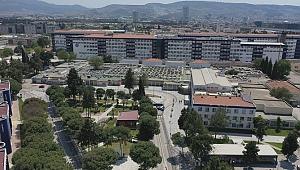 EÜTF Hastanesinin yeşil alan miktarı 2,5 kat arttı