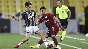 Fenerbahçe sahasında kazandı :2-1