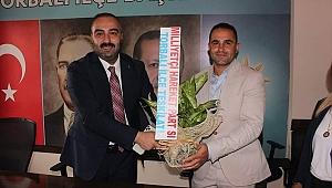 MHP Torbalı'dan AK Partiye Ziyaret