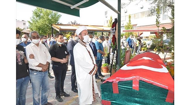 Muğla'da vefat eden polis memuru toprağa verildi