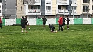 Salihli Belediyespor'da Sosyal Mesafeli İlk Antrenman