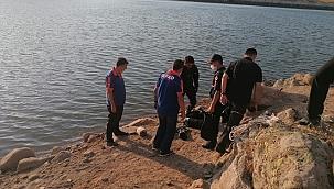 Afyonkarahisar'da gölete giren kişi boğuldu