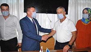 AK Parti Ödemiş İlçe Başkanı Şen, göreve başladı
