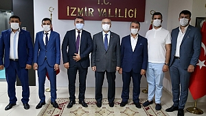 ASKON'dan Vali Köşger'e Nezaket Ziyareti
