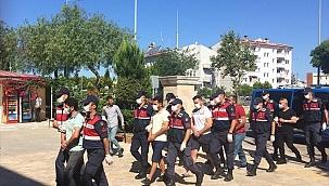 Aydın'da tefeci operasyonunda 5 zanlı yakalandı