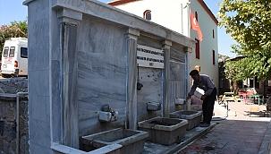 Celal Bayar'ın yaptırdığı çeşme restore edildicek