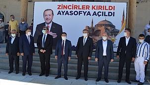 """Eroğlu'dan """"Ayasofya"""" açıklaması"""