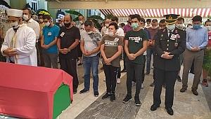 Kalp krizi sonucu vefat eden polis memuru Nazilli'de toprağa verildi