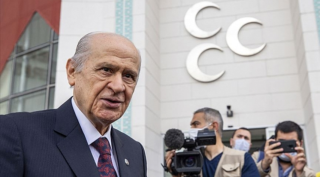 MHP Genel Başkanı Bahçeli'den baro açıklaması