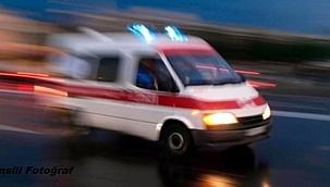 Uşak'ta minibüs devrilmesi sonucu 1 kişi öldü, 7 kişi yaralandı