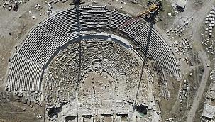 Antik tiyatro, restorasyonla yeniden hayat buluyor