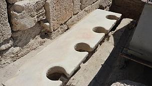 Bu tuvalet 2 bin yıllık
