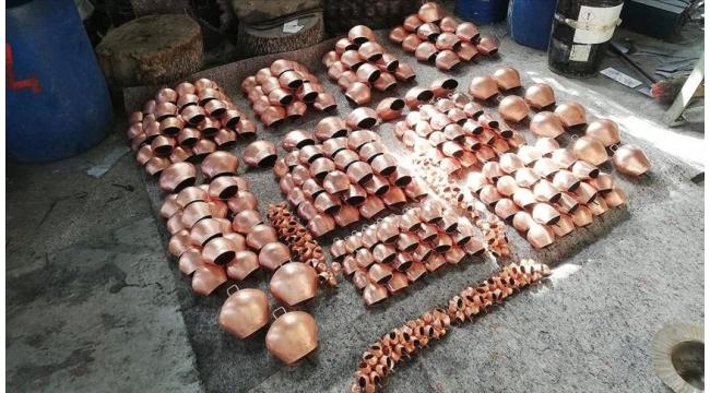 Demirci'den 4,5 milyon liralık 'çan' ihracatı