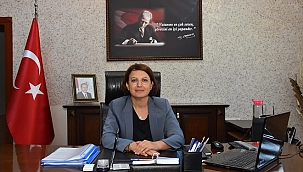İncirliova'nın ilk kadın kaymakamı göreve başladı
