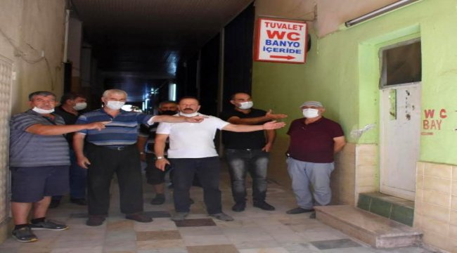 İzmir'deki camide 'tuvalet' tepkisi