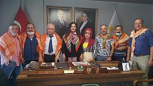 Pamukkale Yörük Türkmen Derneğinden İyi Partiyi Ziyaret