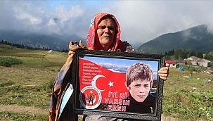 Şehit yavrum tüm Türkiye'nin acısı oldu