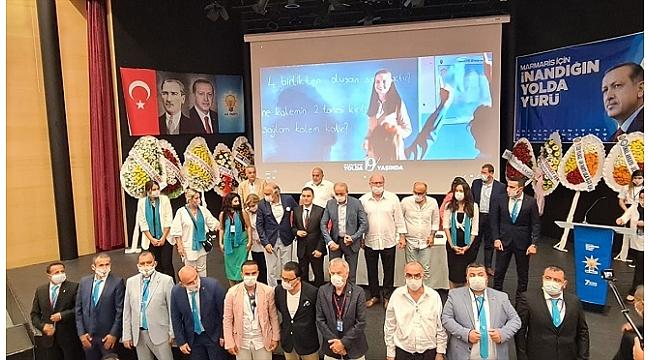 AK Parti Marmaris İlçe Başkanı Gökmen yeniden seçildi