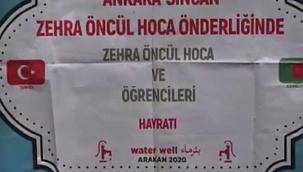 Ankara Sincan'dan Arakan'a su