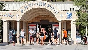Antik havuzu 100 günde 60 bin kişi ziyaret etti