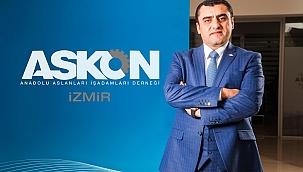 Askon İzmir Şube Başkanı Gücü Ahilik Haftası'nı Kutladı