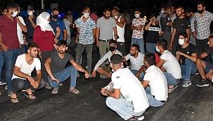 Aydın'da trafik kazasında ölen kişinin yakınları yolu trafiğe kapattı