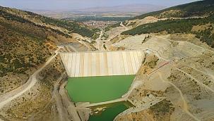 Çay Barajı'nda su tutulmaya başlandı