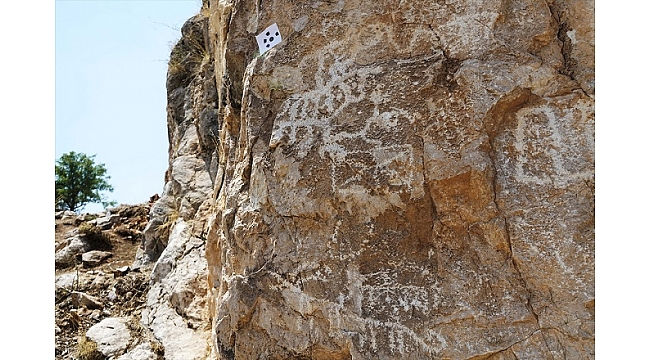 Çobanın bulduğu kaya resimleri üzerinde çalışmalar sürüyor