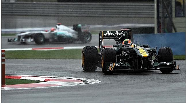 Formula 1 pilotları İstanbul Park'ı virajlarıyla tanıyor