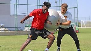 Göztepe, Gaziantep FK maçının hazırlıklarını sürdürdü