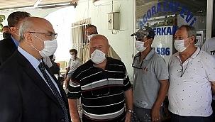 İzmir Valisi Köşger, Urla ilçesini ziyaret etti