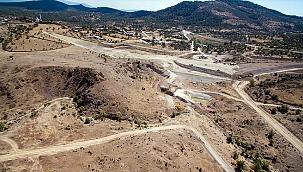 Manisa'daki Sarma Barajı'nın yüzde 65'i tamamlandı
