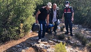 Muğla'da kaçak kazı yapan 4 şüpheli yakalandı