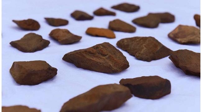 Ovacık'da 'taş devri' kalıntılarına ulaşıldı
