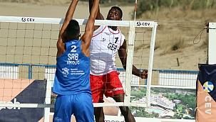 Plaj Voleybolu Avrupa Şampiyonası, İzmir'de başladı
