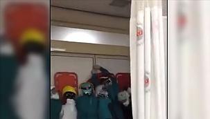 Sağlıkcılara saldıran 2 şüphelinin tutuklanması istendi