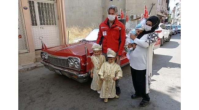 Sünnet çocuklarının hayalini Kızılay gerçekleştirdi