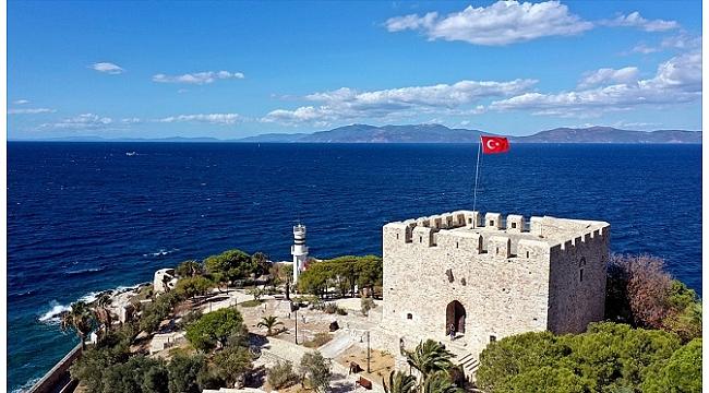 Barbaros Hayrettin Paşa'nın mirası kale turistlerden ilgi görüyor