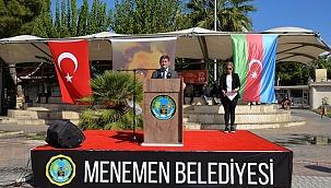 "Başkan Aksoy: ""İki devlet tek milletiz"""