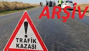 Çeşme'de trafik kazası 1 ölü
