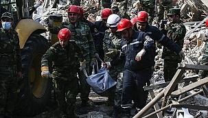 Ermenistan'ıni sivilleri 'orta menzili balistik füze ile vurduğu belirlendi