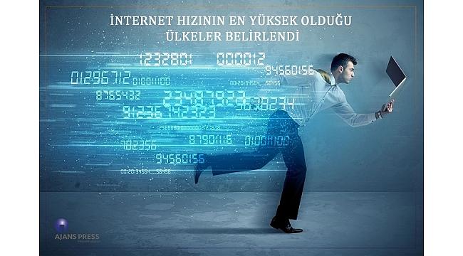 İnternet Hızının En Yüksek Olduğu Ülkeler Belirlendi